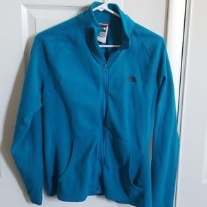 The North Face, fleece, full zip.